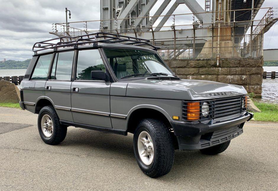 1992 Land Rover Range Rover SWB Range rover, Transfer