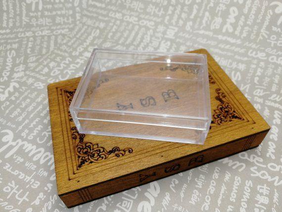 Plastic Ring Clip Display 50-Pcs Jewelry Display