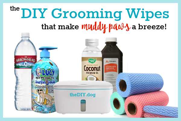 DIY Dog Paw & Grooming Wipes (With images) Diy dog stuff