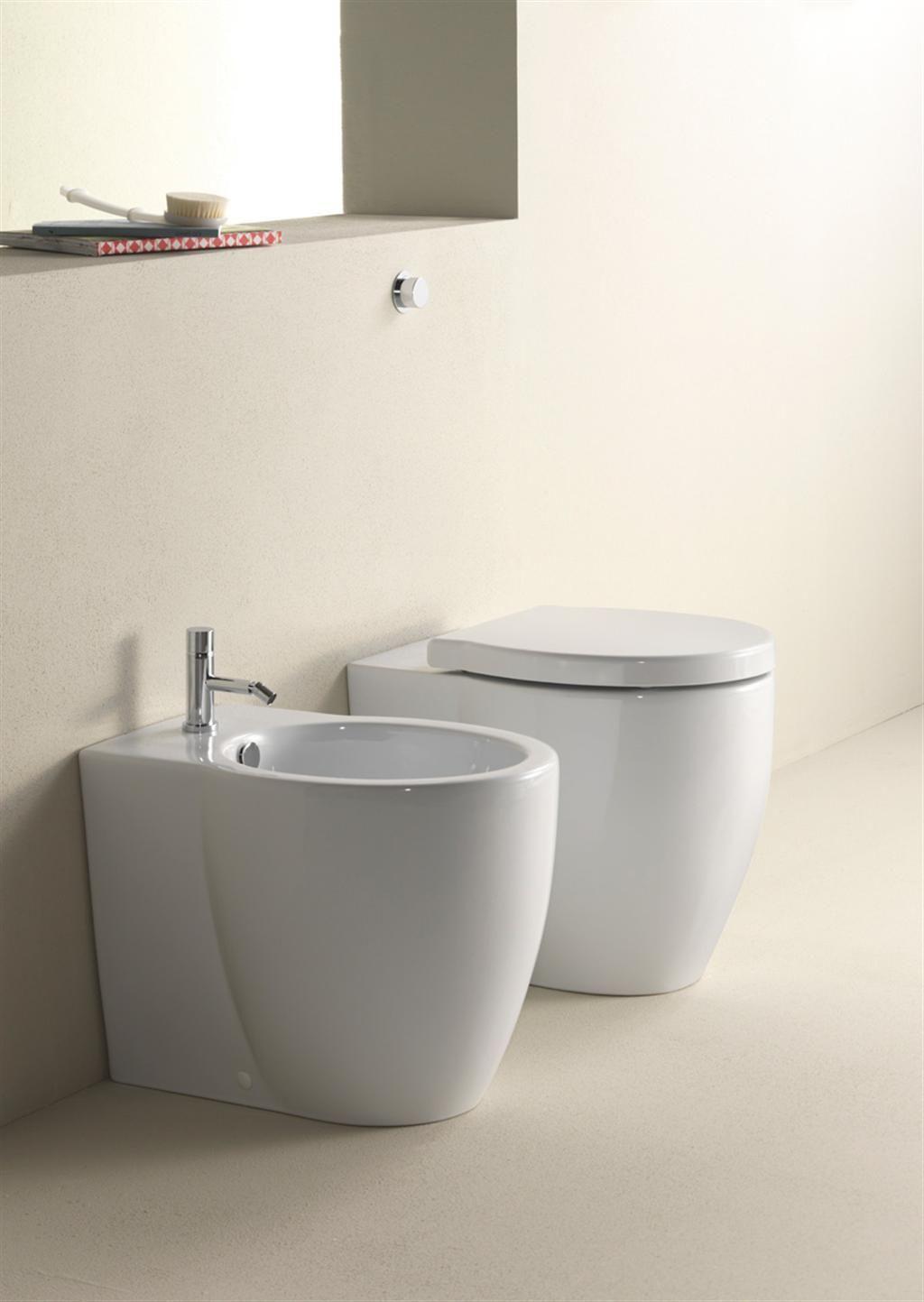 Panorama Wc e Bidet 55x37 661011. Serie per sanitari della GSI ...