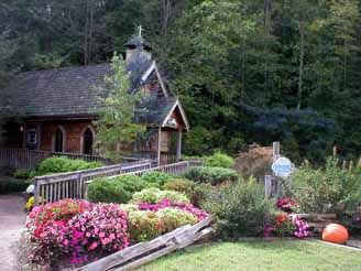 Gatlinburg Chapel WeddingSmokey Mountain Wedding Cabin Pigeon Forge WeddingOutdoor Garden Gazebo TN