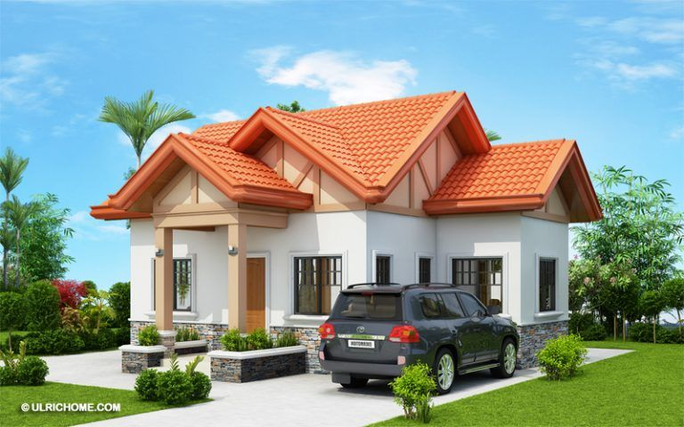 Captivating 2 Bedroom Home Plan - Ulric Home | Modern ...