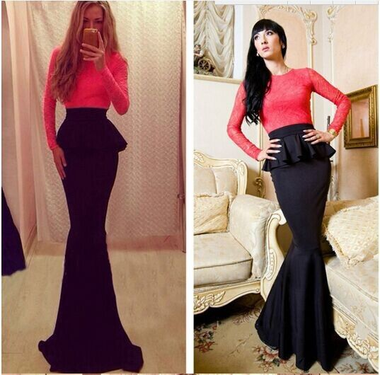 Find More Arel Accessories Information About Y Women Winter Clothing Trumpet Mermaid Dress Club