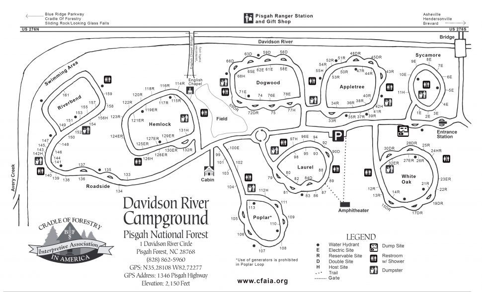 Climbing:Amazing Davidson River Campground Camping Pisgah