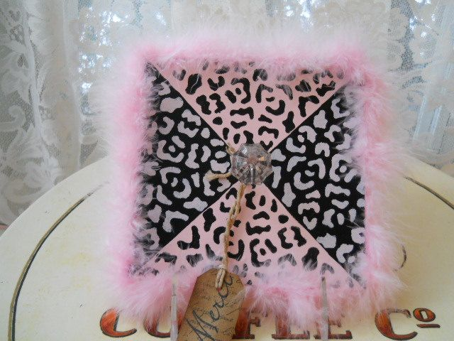Animal Print Plaque Necklace Hanger. $8.00, via Etsy.