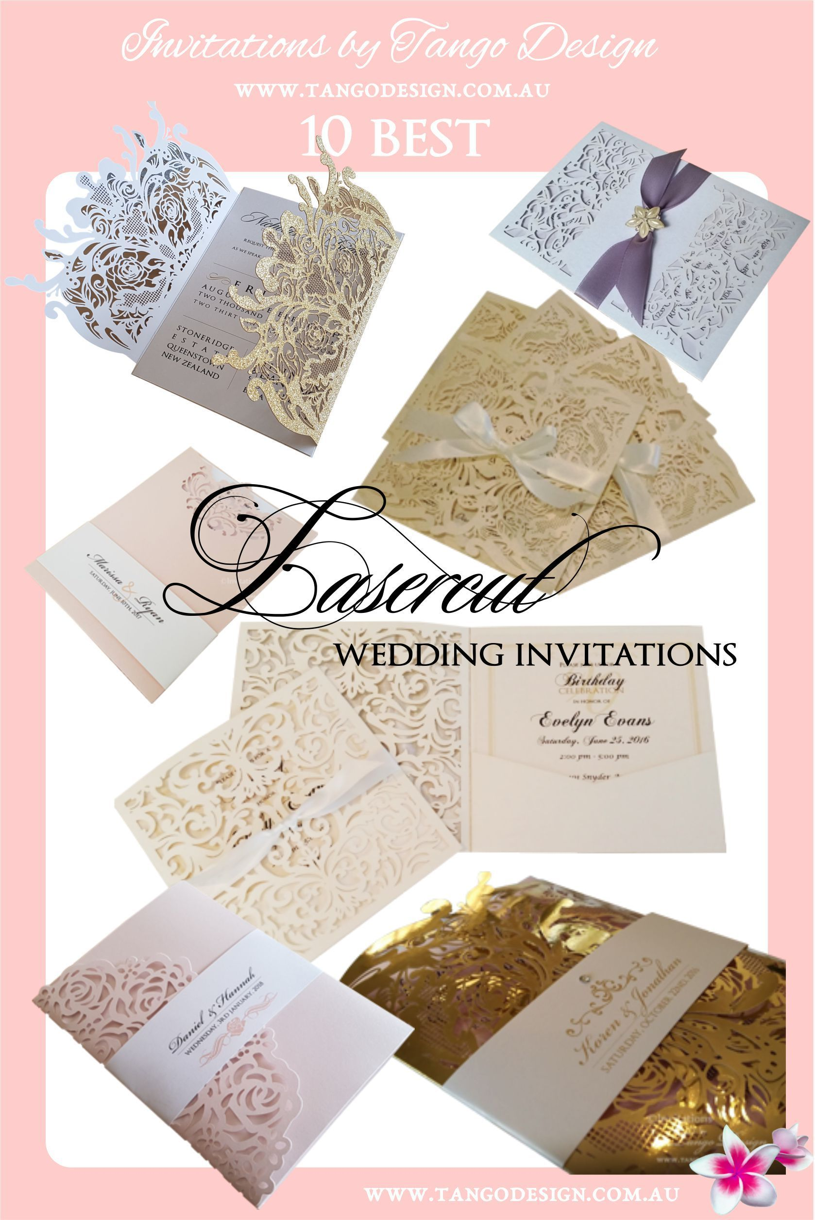 Some of our amazing wedding invitations, custom made for each ...