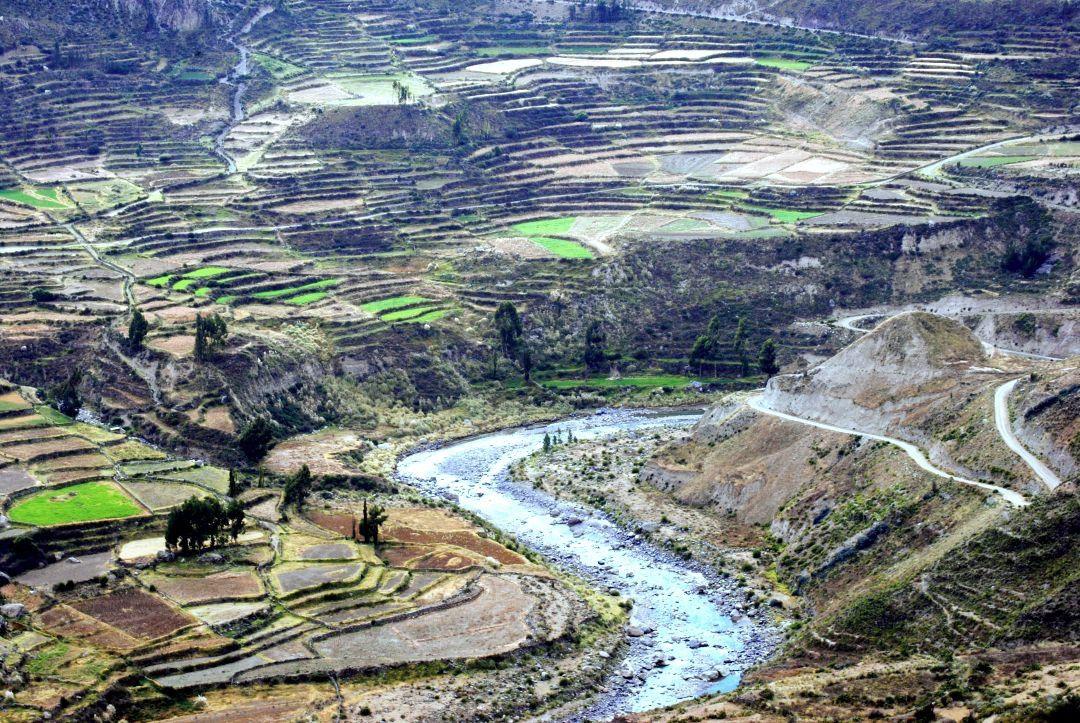 Connie Llompart Laigle On Instagram Las Terrazas De Cultivo De Chivay En El Canondelcolca Peru Instagram Country Roads Instagram Posts