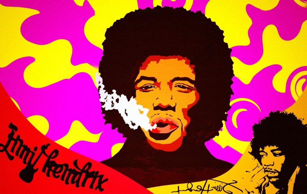 Jimi Hendrix  Paint HD pictures Jimi Hendrix Wallpapers