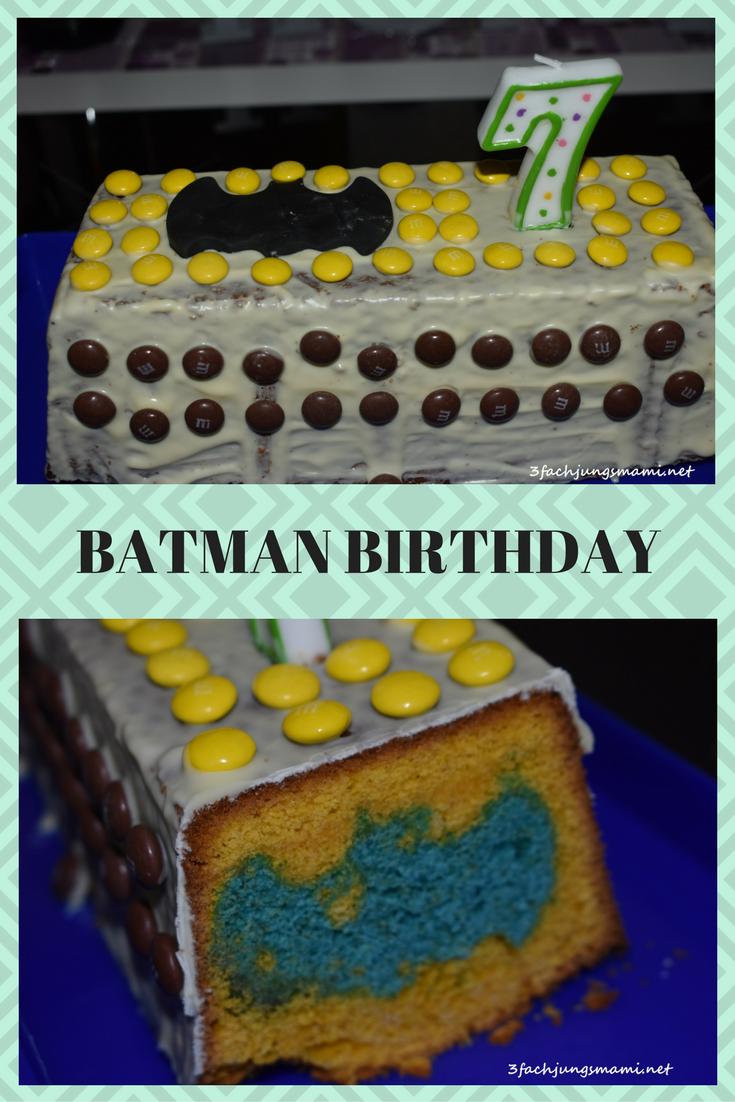 Batman Geburtstag Alexander Wurde 7 Jahre Alt Batman Kuchen