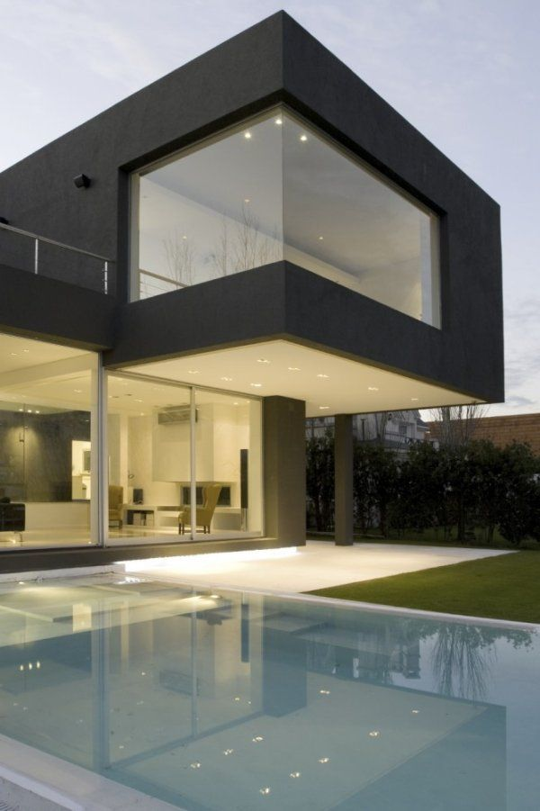 """Casa Negra - """"the Black House""""- by Andres Remy Architects ..."""