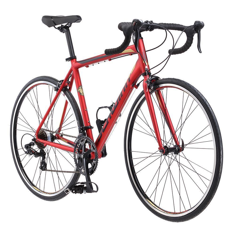 Men S Schwinn Volare 1400 700c Road Bike Red Road Bike Bicycle