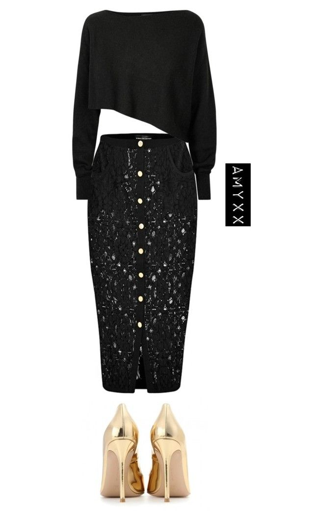 """""""#2766"""" by nineteen92 ❤ liked on Polyvore featuring Gianvito Rossi and Crea Concept"""