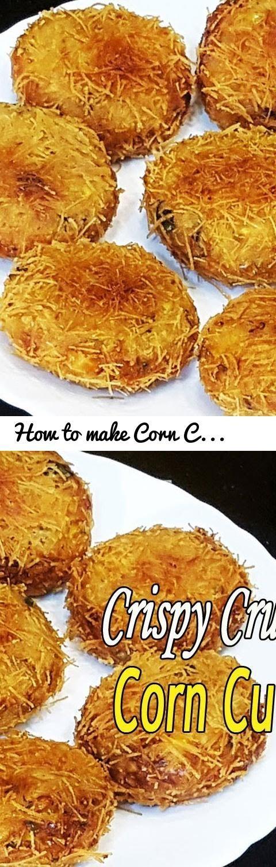 How to make corn cutlet crispy corn cutlet recipe crispy corn tags indian food indian recipes quick easy indian recipes indian recipe videos how to make crispy forumfinder Images