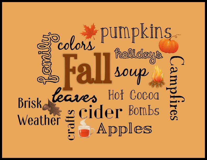 Image result for fall faves free image
