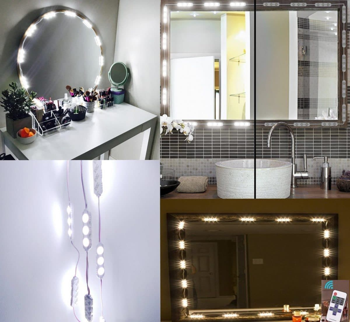 Best Lighted Makeup Mirror Reviews (Wall Mounted Lighted