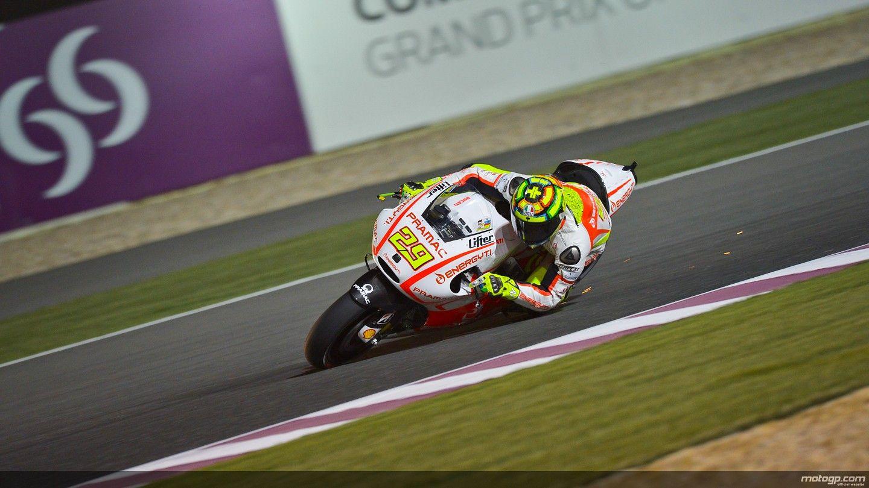 Andrea Iannone - Qatar 2013