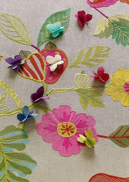 Manuel Canovas fabrics available through Jane Hall Design