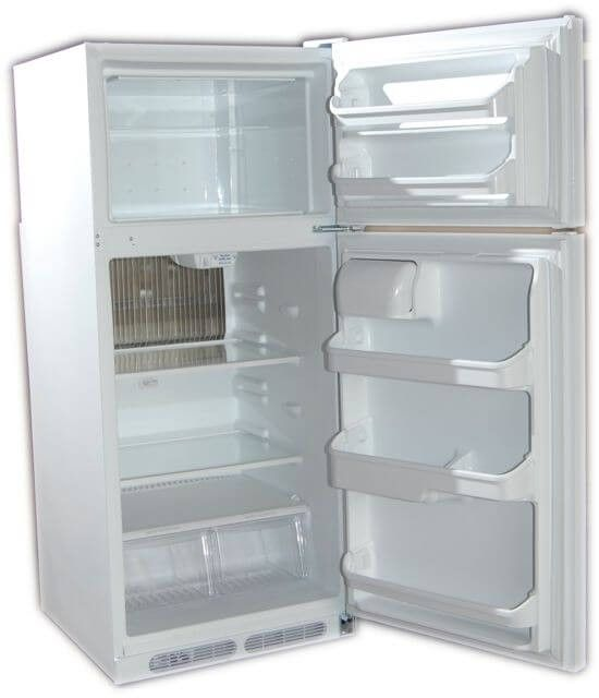 Crystal Cold Propane Refrigerator Freezer 12 Cu Ft
