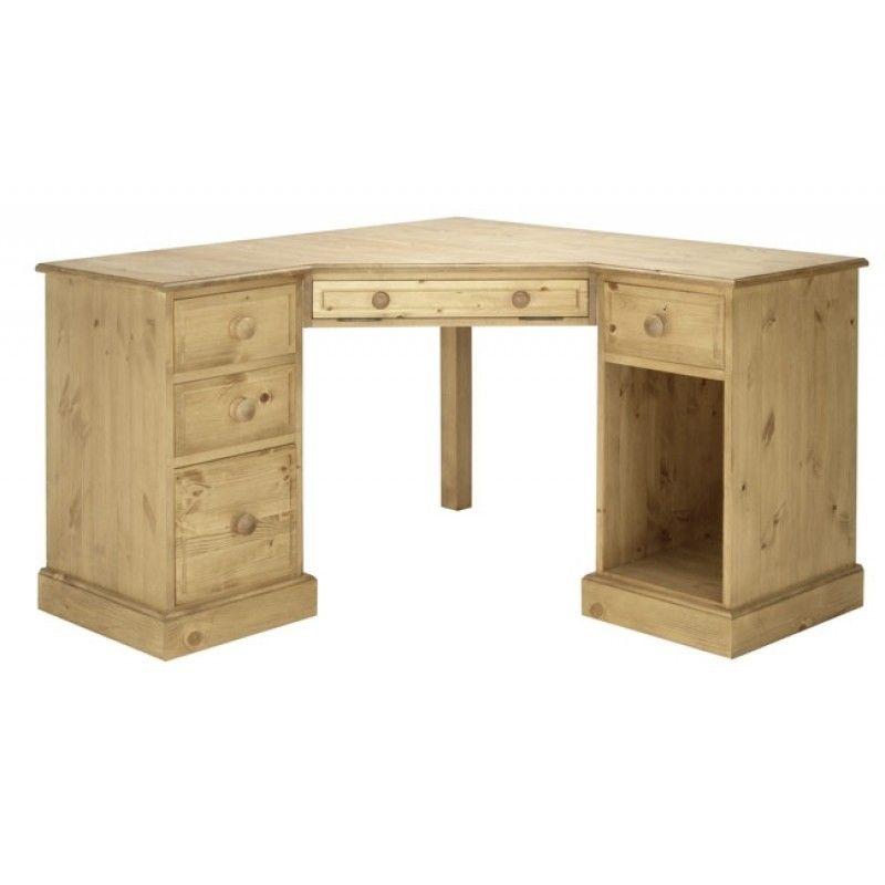 Pine Corner Desk Woodworking Desk Plans Desk Decor Desk