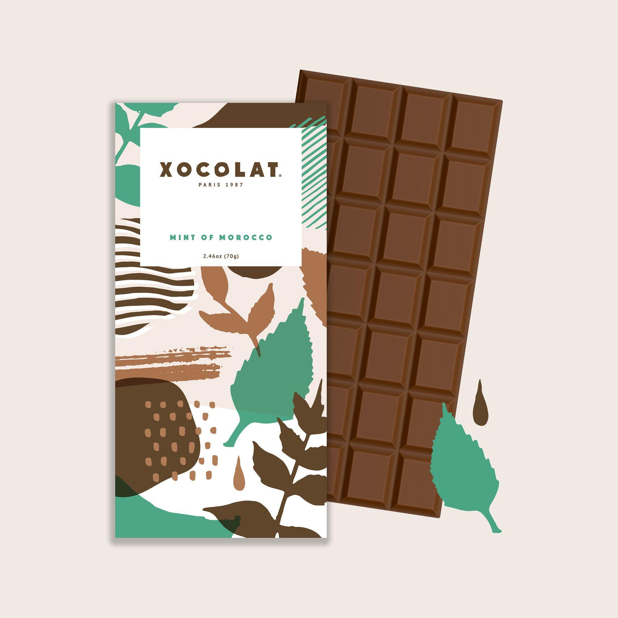 Xocolat – Branding Identity Chocolat Mockup Mint