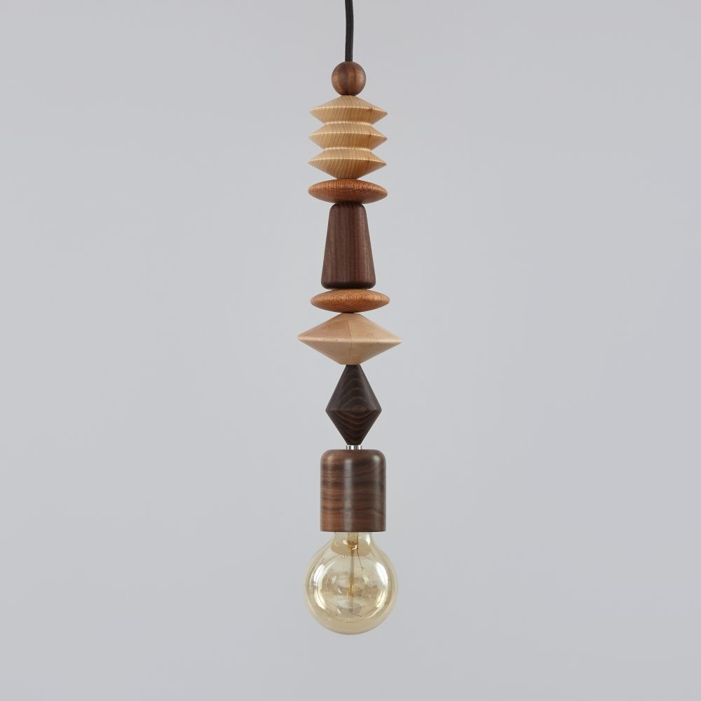 Marz designs aztec pendant light wood image lighting