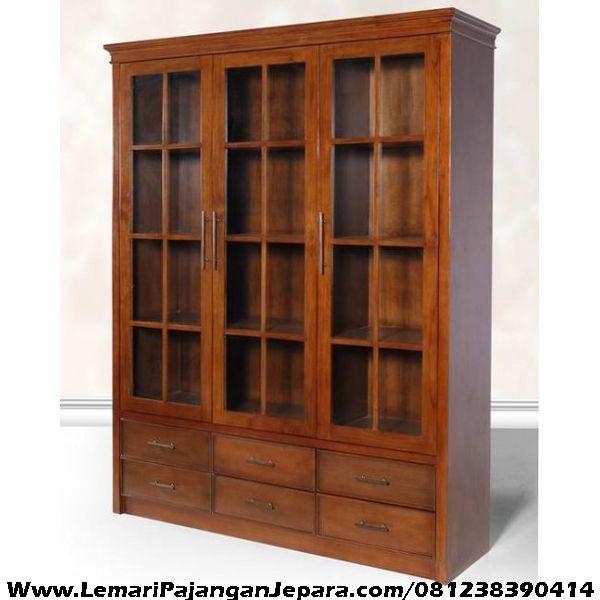Lemari minimalis laci rak buku rak buku perpustakaan rak for Kitchen set jati minimalis
