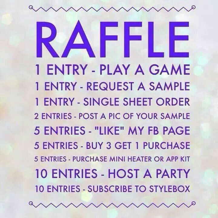 Jamberry Raffle Game  Jamberry Party Posts    Jamberry