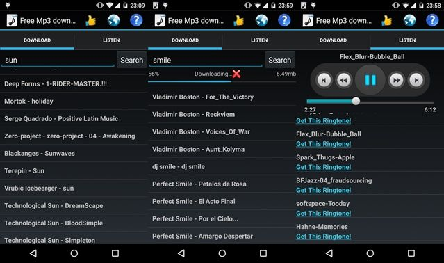 Free Mp3 Downloads App for Android | Free Mp3 Downloads App