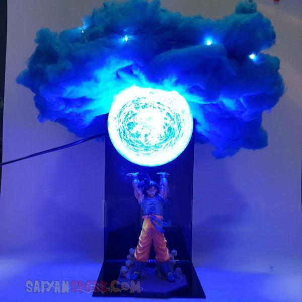 Lampe Dbz Genkidama Avec Nuage Dragon Ball Z Cloud Lamp
