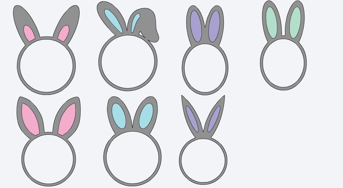 Monogrammed easter vinyl decals personalized stickers decals for monogrammed easter vinyl decals personalized stickers decals for easter baskets easter gift negle Choice Image