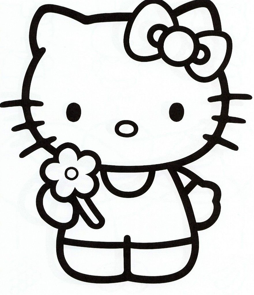 Le par petitesmains tags coloriage hello kitty thingkid hello kitty pinterest hello - Coloriage hello kitty ...