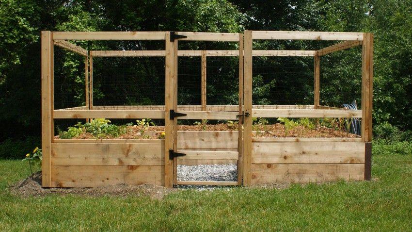 8'x12' Just-Add-Lumber Vegetable Garden Kit - Deer Proof ...