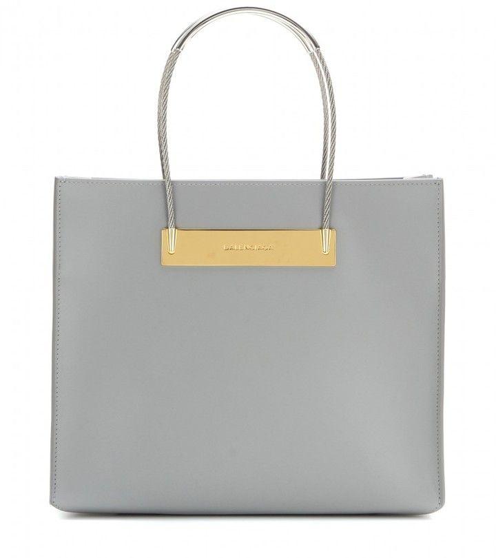 Balenciaga Cable Shopper Small leather bag