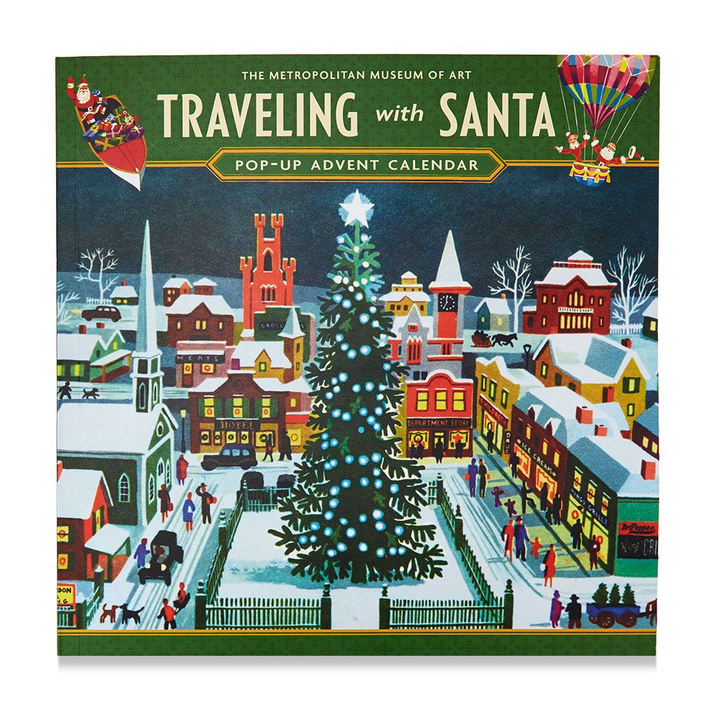 Traveling with Santa Pop-Up Advent Calendar | Advent calendars and Santa
