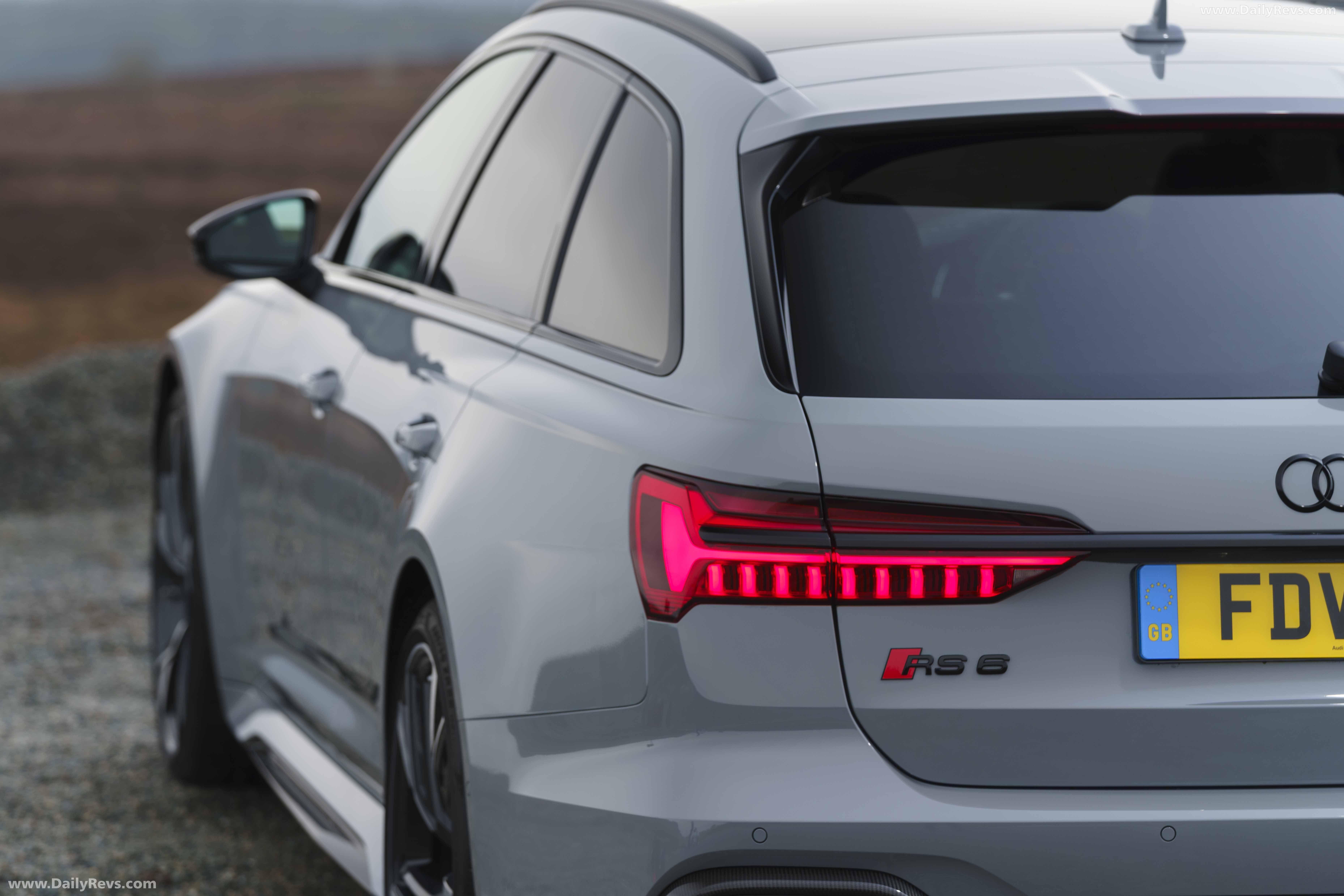 2020 Audi RS 6 Avant UK - HD Pictures, Videos, Specs ...