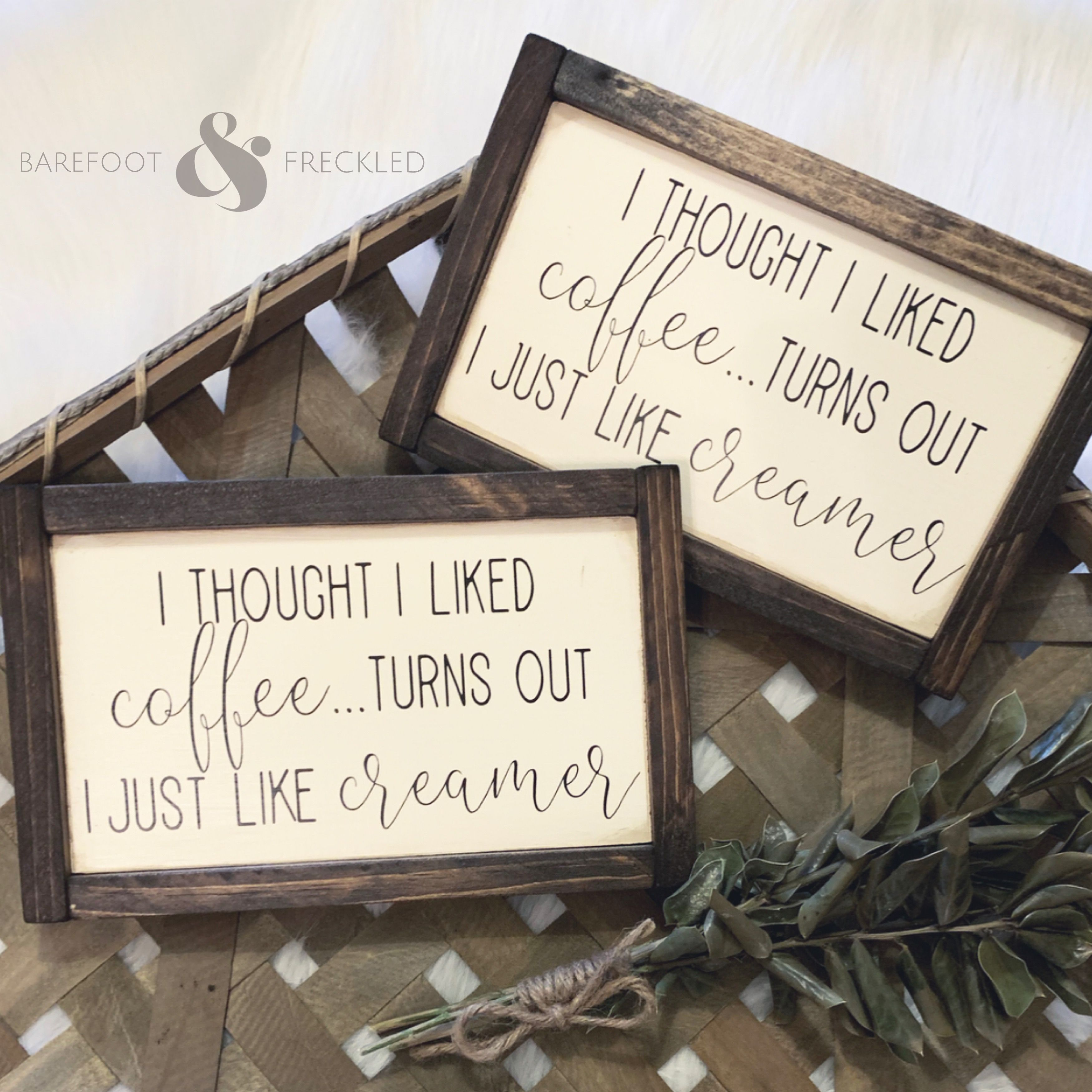 Wooden Farmhouse Style Sign Perfect For Your Coffee Bar Humor Funny Sign Farmhouse Sign Wood Sig Farmhouse Coffee Bar Farmhouse Style Sign Farmhouse Signs