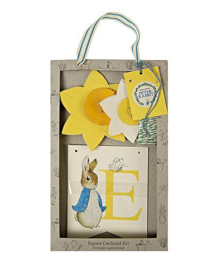 Peter Rabbit Easter Garland Set