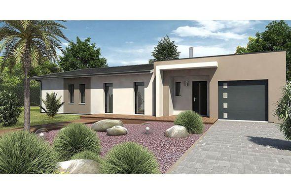 Modèle de maison ALBA -  Retrouvez tous les types de maison à - construire sa maison 3d