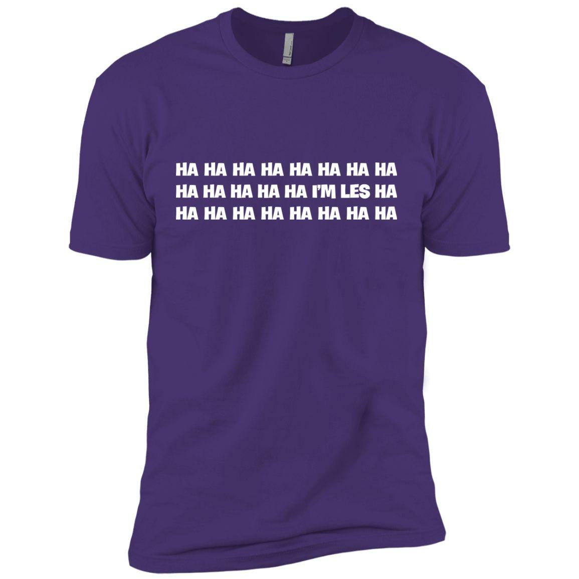 i'm les t shirt hahaha t shirt lol Next Level Premium Short Sleeve Tee