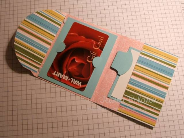 5in1 Gift Card Holder by copsmonkey - Cards and Paper Crafts at Splitcoaststampers