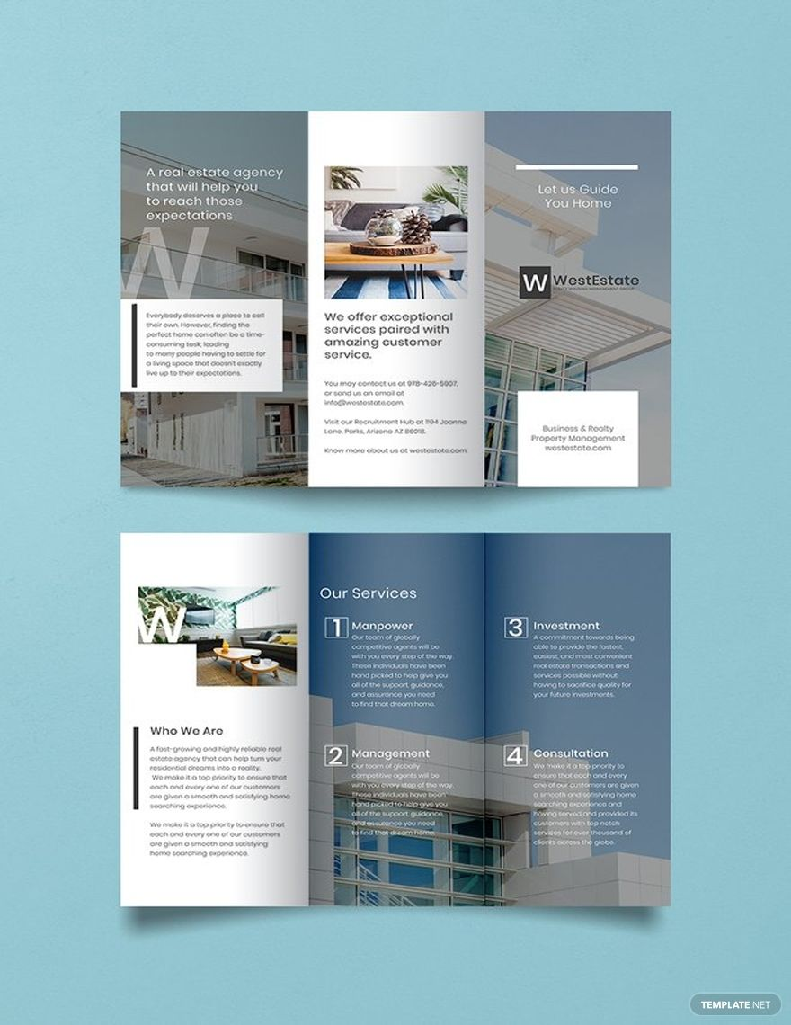 Free Commercial Real Estate Brochure Template Word Doc Psd Indesign Apple Mac Pages Illustrator Publisher Real Estate Brochures Real Estate Flyer Template Real Estate Flyers Commercial real estate brochure template