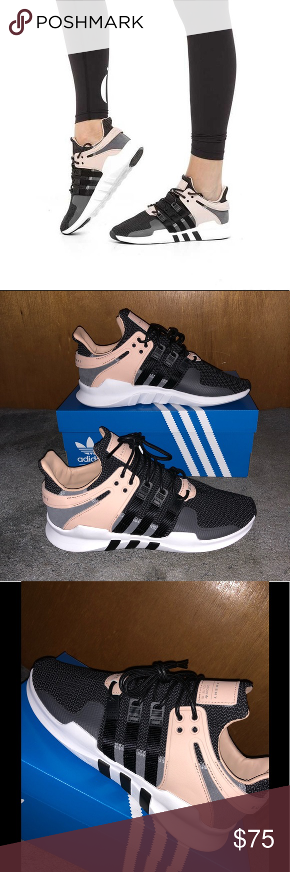 7a339a65467f Adidas EQT Support ADV Women s Sneakers Size  9.5 - Colors  Black