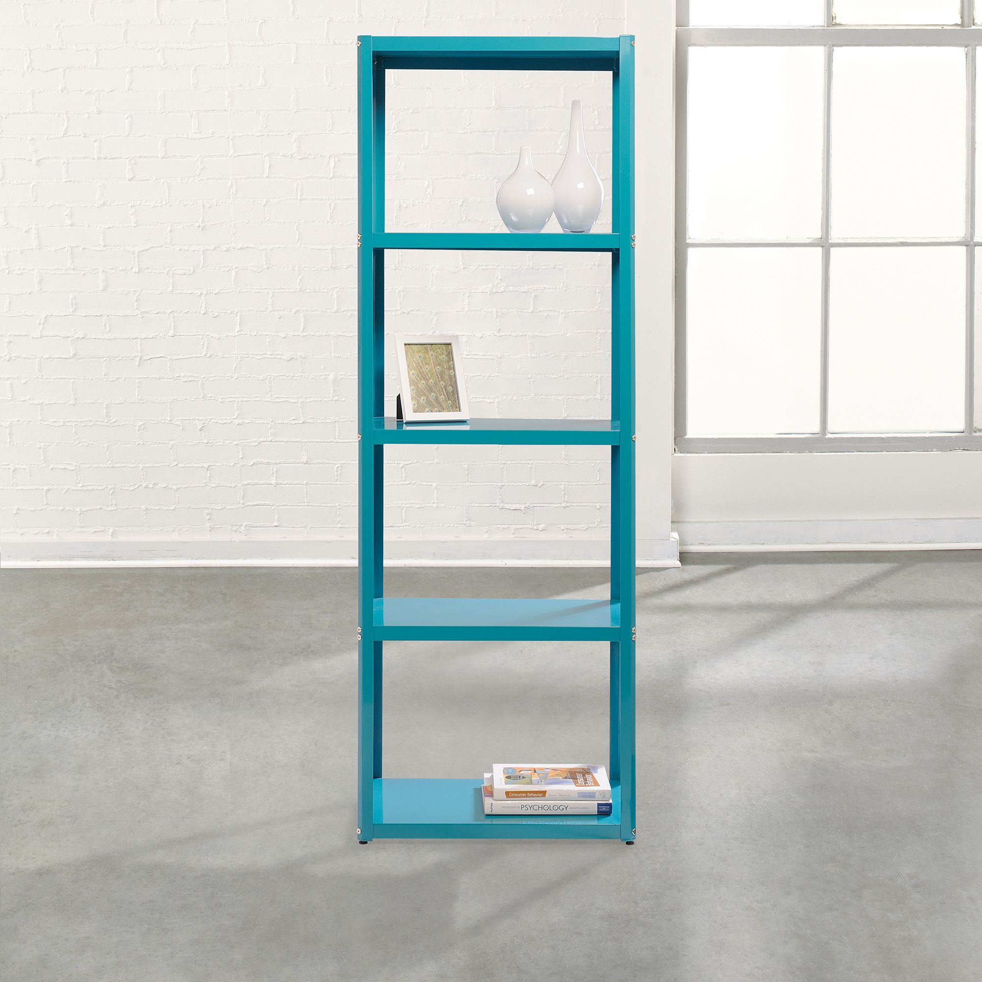 small free tower shipping space today home bookcases garden product storage bookcase bestar inch overstock