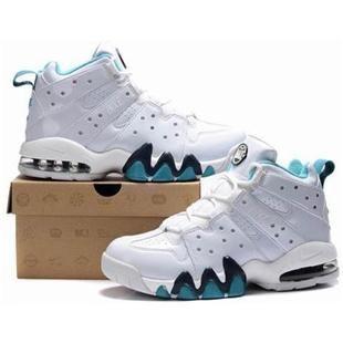 New Nike Air Max2 CB 94 White/Jade Charles Barkley Shoes