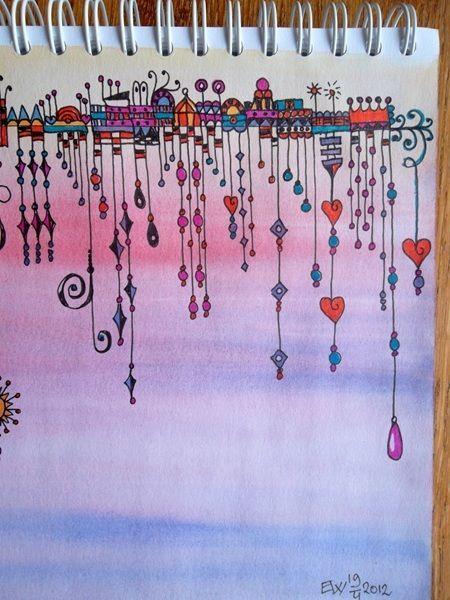 I love Ellen Wolters beautiful Zenspirations Dangle Design... she always does such wonderful work!