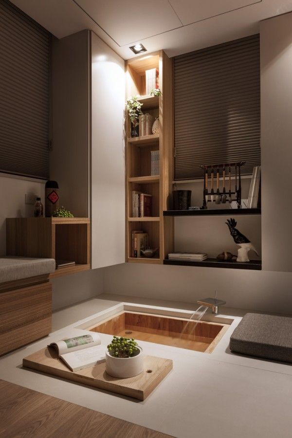 Taipei Home Showcases Asian Minimalist Influences Interior Asian Home Decor Japanese Interior Design