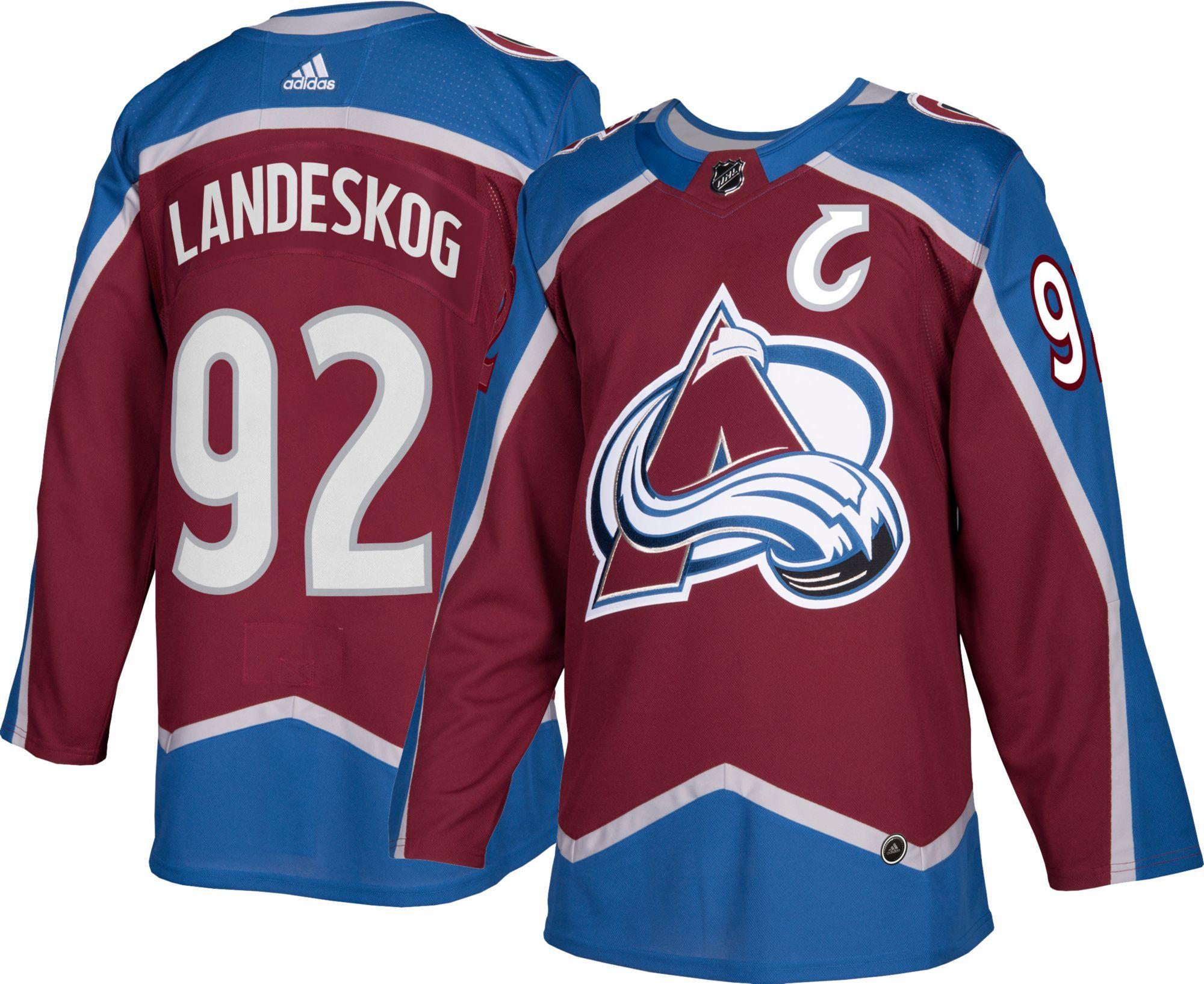 c238572f24a adidas Men s Colorado Avalanche Gabriel Landeskog  92 Authentic Pro Home  Jersey