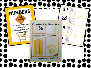building place value skills with a freebie classroom freebies place value activities. Black Bedroom Furniture Sets. Home Design Ideas