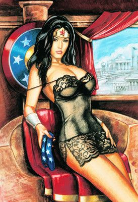 Wonder woman erotic fantasy art