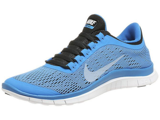 low priced 4b642 1bbef ... germany nike free 3.0 v5 womens new running blue hero black silver  6d2e7 31667